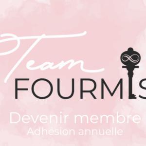Adhésion annuelle Team Fourmis
