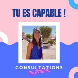 Consultation au féminin – Durée 1h00